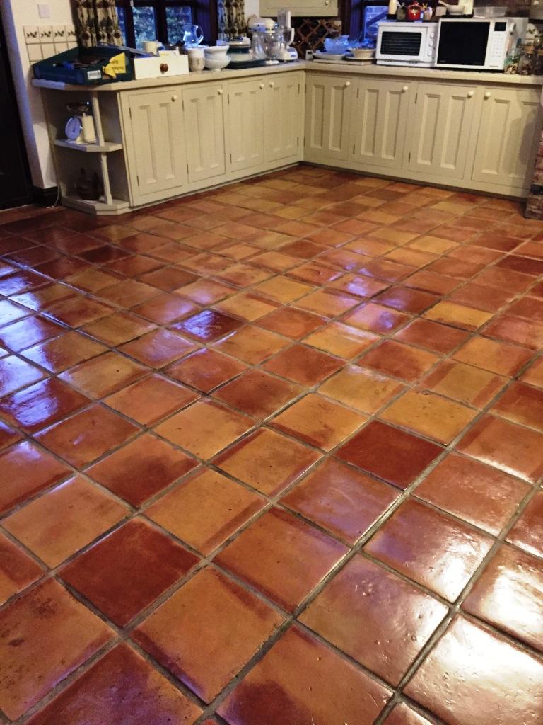 mexican terracotta floors