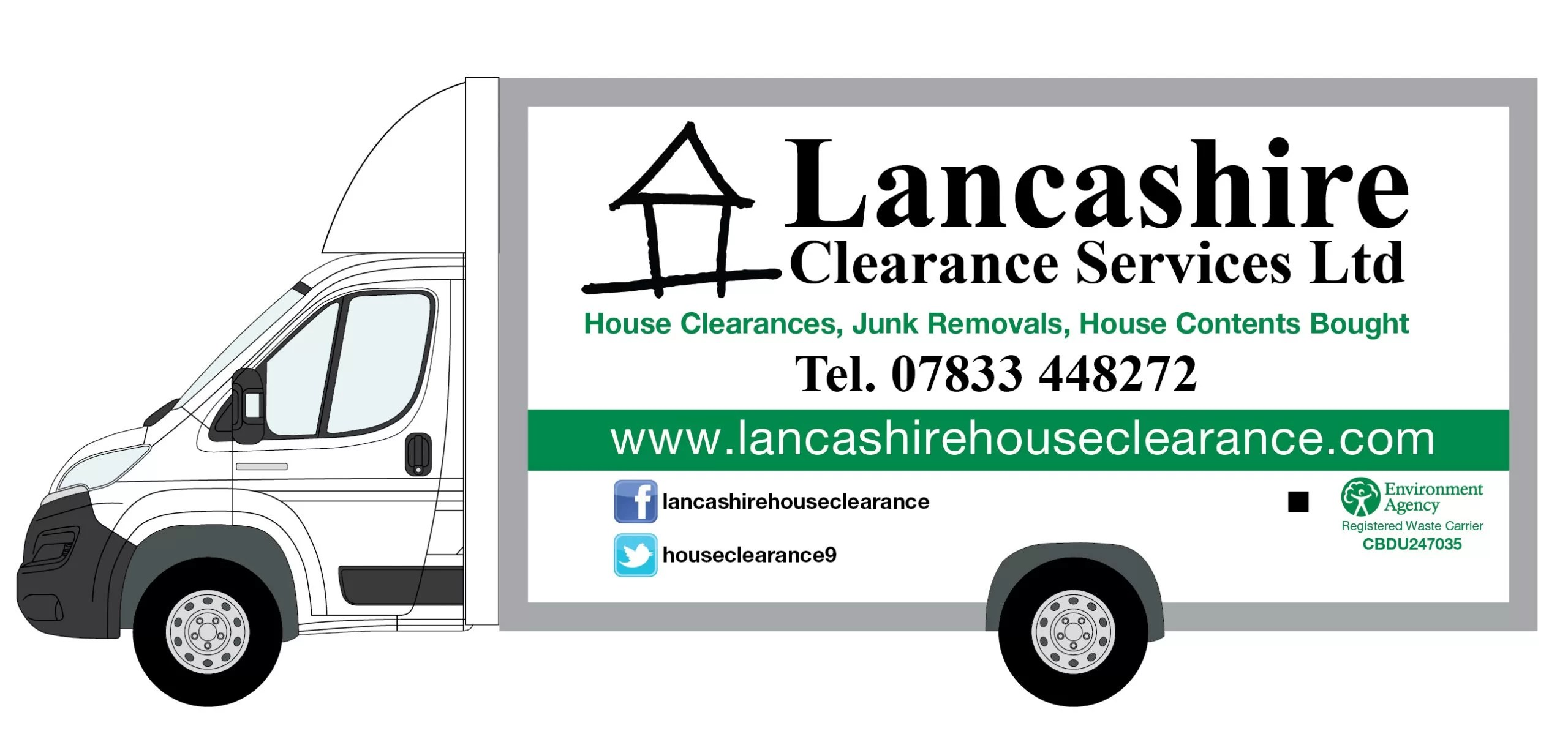 House Clearance junk removal van