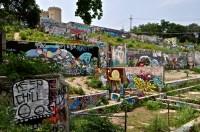 austin; graffiti; east austin; guadalupe; bob dylan; iggy ...