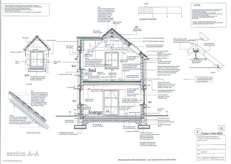 Dormer Framing Details. Lancaster Associates Chartered