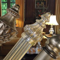 library-finials