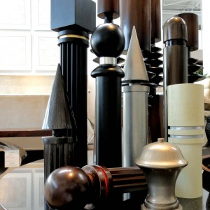 Finials-In-Showroom