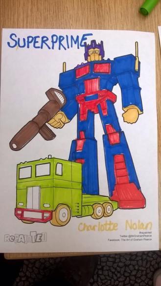 REPAINTED-Transformers
