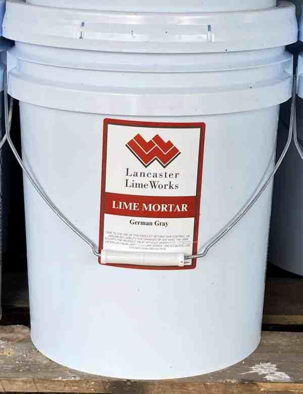 German Gray Lime Mortar Mix