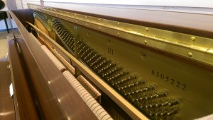 Yamaha Upright Soundboard