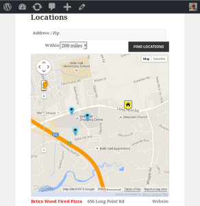 Basic Store Locator Plus UI