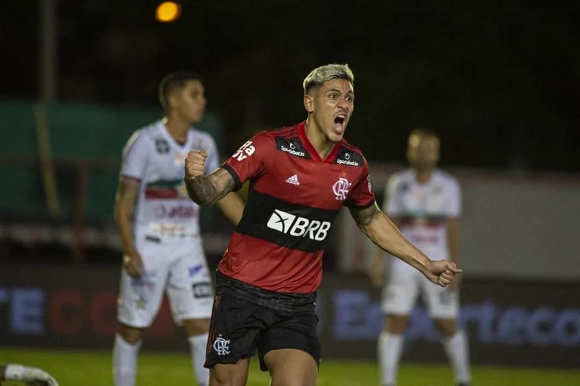 Portuguesa x Flamengo - Pedro