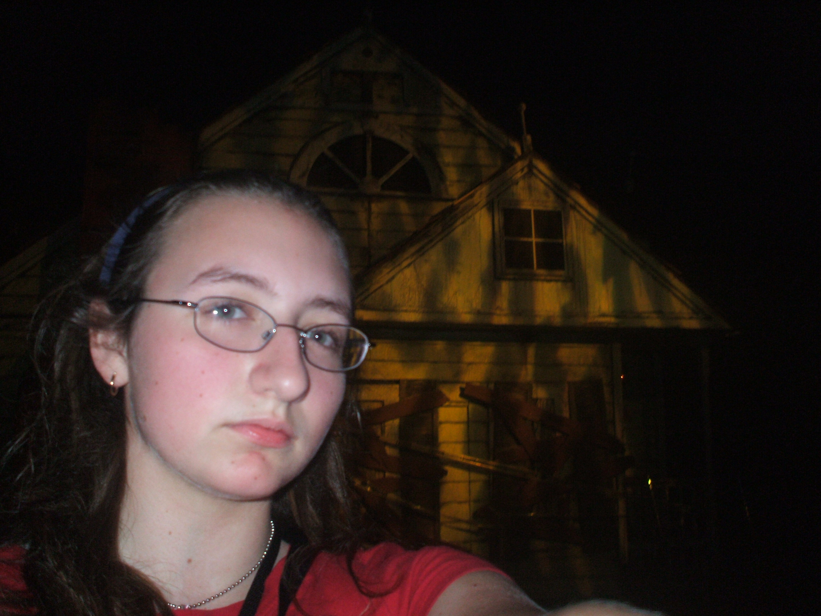 # 1 Daughter Opts Out of this Haunted House