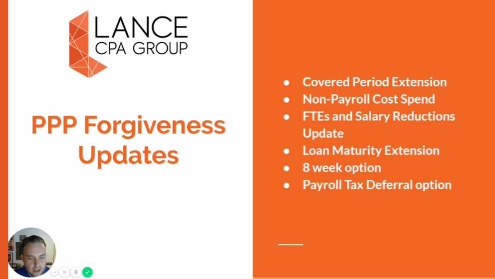 ppp forgiveness updates