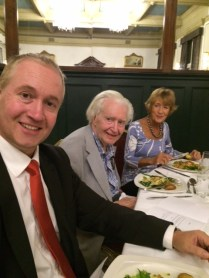 Oliver Greenfield, Tony Greenfield and Denise Lievesley