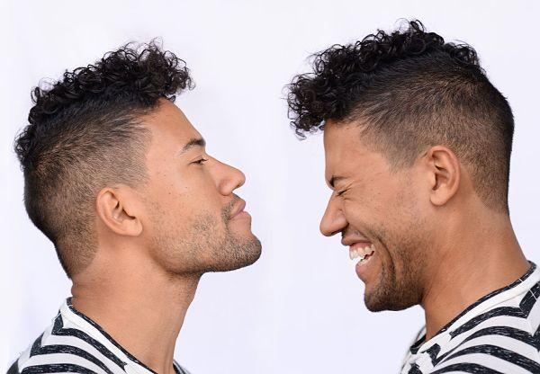 hair stylist for men: image curly mens hairstyles
