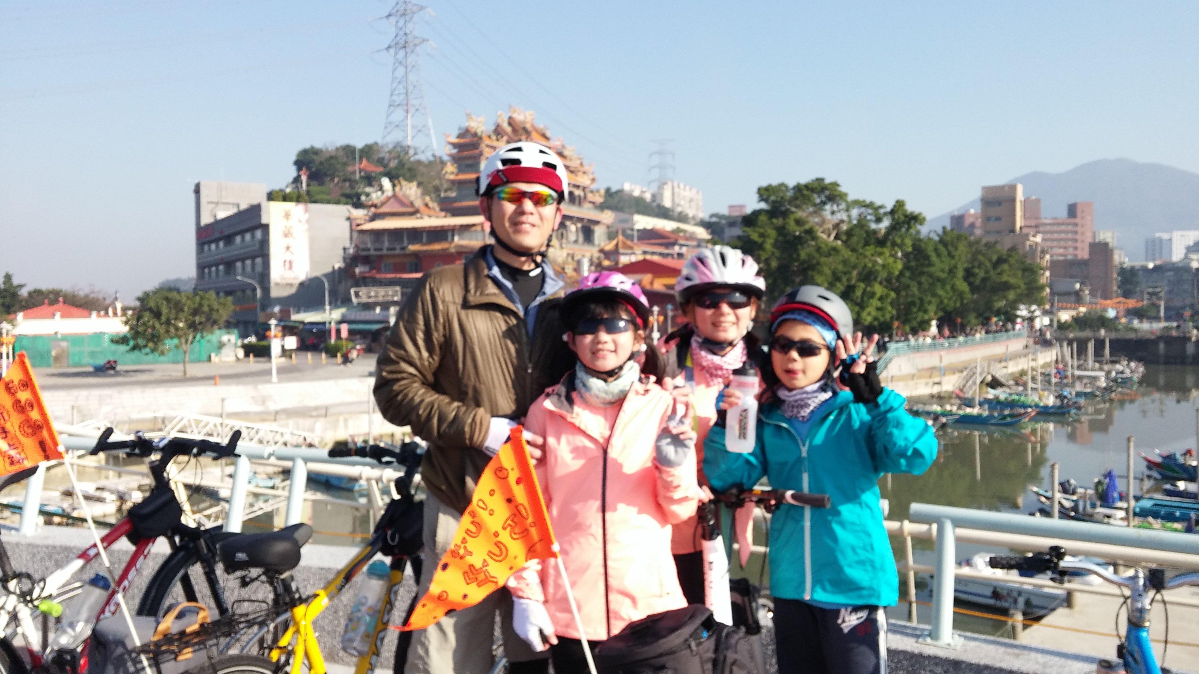 [單車環島練習曲] 2016 親子單車北高行 Day1 (大年初一) 台北 – 新竹市區