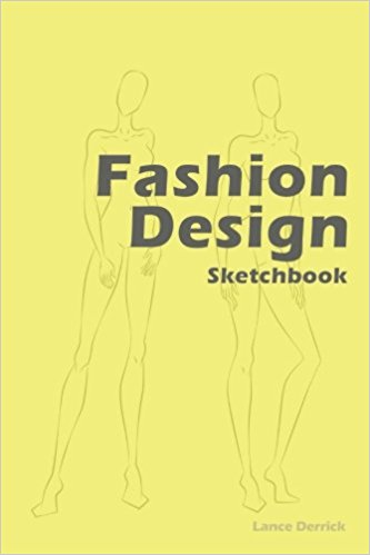 Fashion Design Sketchbook coverd with Pantone 15-3520 color is released