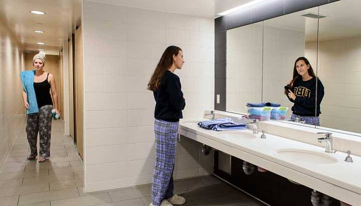 Shared bathroom is famous in the west but new for Indians