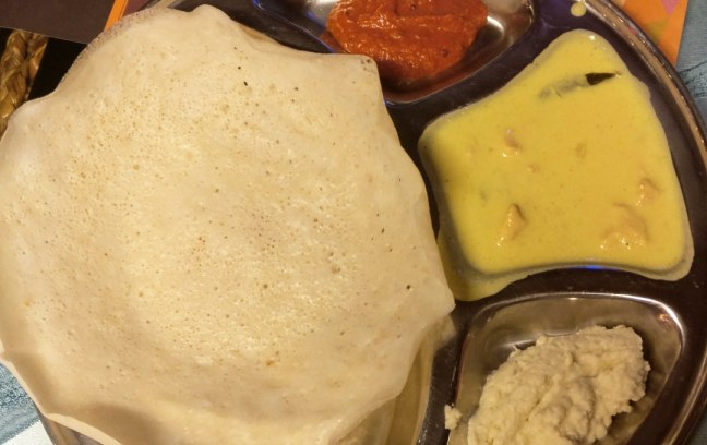 Appam and Dosa in Sahara Star