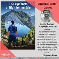 Blogchatter Ebook Writing - The Alphabets of Life - for mortals