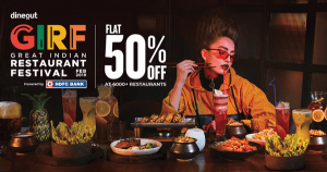 Dineout GIRF - Best Food subscription in India 2020