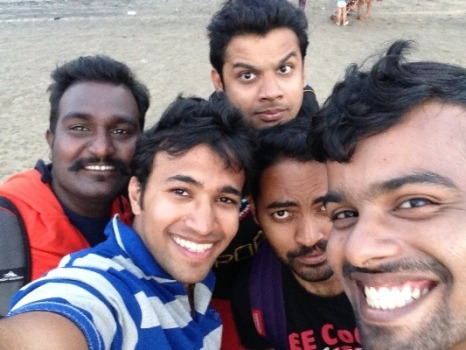 Goa Friends tour - The fantastic 5