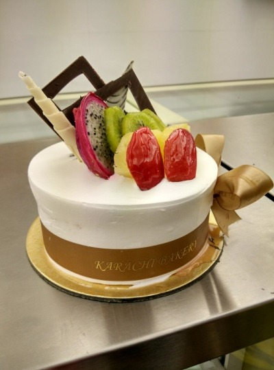 Cake at the Karachi Bakery