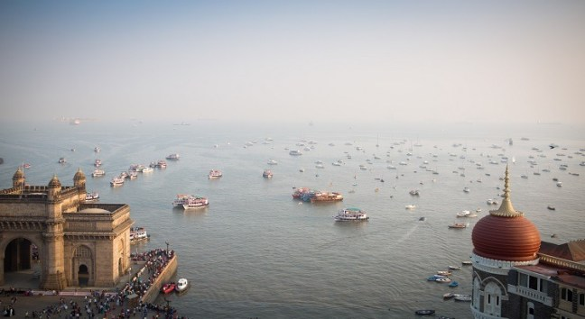 Mumbai wide shot