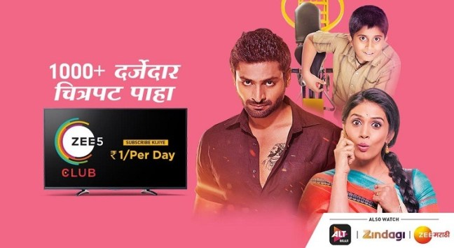 ZEE5 Club Pack on ZEE5 app