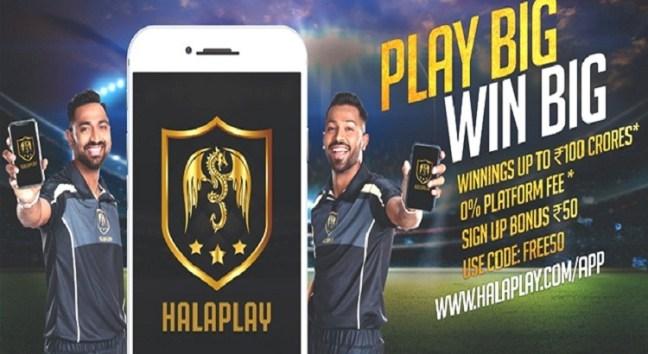 Hala Play Fantasy Cricket Apps in India