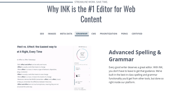 INK for ALL AI based content writing tool