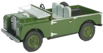 Land Rover 88 Bronze Green