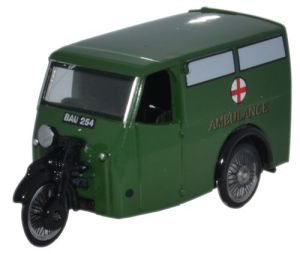 Tricycle Van AMBULANCE