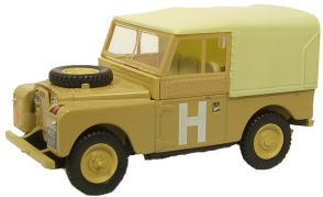 LAND ROVER S 1 88 CANVAS SAND