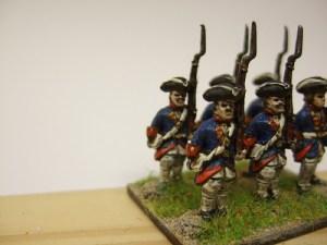 Grenadier turnback tricorn x 6