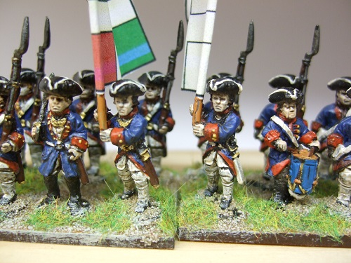 French SYW command turnbacks