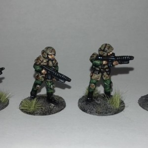 Brenloc Battallion Grenadiers 20mm Sci fi