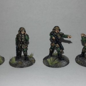 Brenloc Battallion NCOs 20mm Sci fi