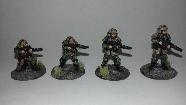 Brenloc Battallion Riflemen 20mm Sci fi