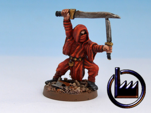 Cultist Assasin-Sword and dagger