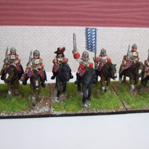 Cuirassier unit 12 figures