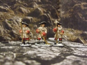 Gun crew 3 figures