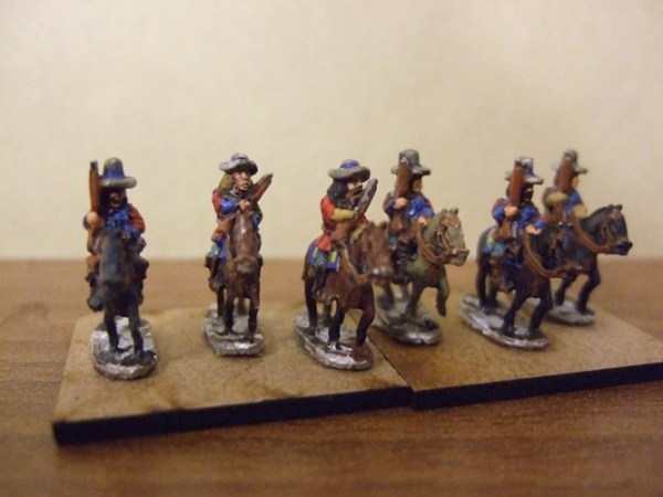 4x Mounted Dragoons