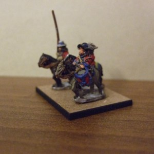 Dragoon mounted command 3 figures