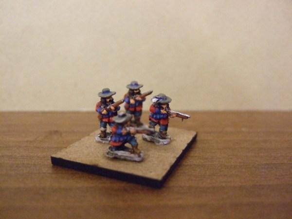 Dismounted Dragoons x10 mixed