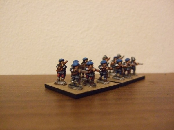 10x Scottish musket mixed