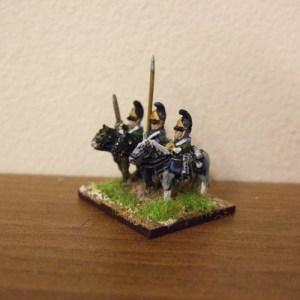 Russian dragoon command 3 figures