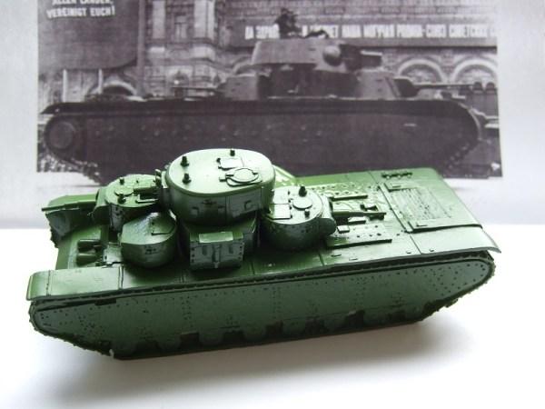 T-35 Russian multi turret