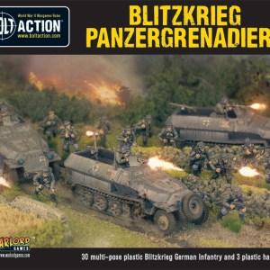 Blitzkreig Panzergrenadiers (30+3 Hanomags