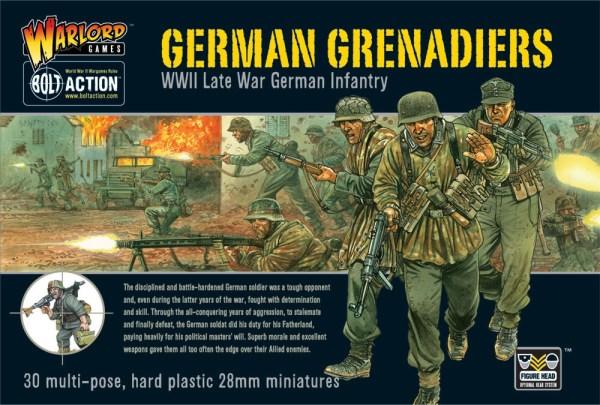 Bolt action German Grenadiers