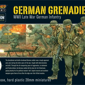 Bolt action German Grenadiers