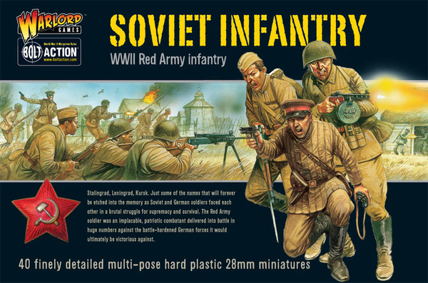 Bolt Action Soviet Infantry