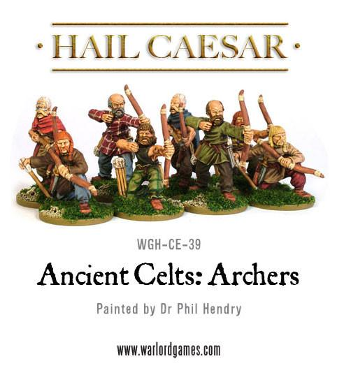 Celtic archers 8 figures