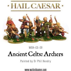 Celtic archers 8 figures